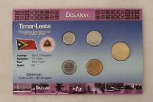 EAST TIMOR COIN SET WITH COA B38 #62