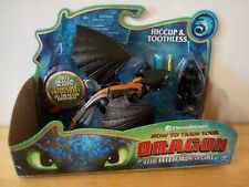 "How To Train Your Dragon HICCUP & TOOTHLESS 7"" Action Figure The Hidden World"