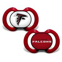 NFL Team Colored Infant Pacifiers- 2 Pack