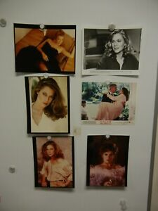 Lot of 6 Kathleen Turner Color Photos 8x10 MINT