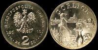 Pologne. 2 Zloty. 2010 (Pièce KM#Y.759 Neuf) Ville de Gorlice