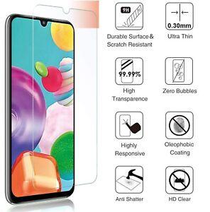 For Samsung A03S A22 A12 A21S A52 A40 A02S A32 Tempered Glass Screen Protector
