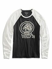 NWT Lucky Brand THE WHO LION, Long Sleeve Tee. Medium. MSRP $49.50