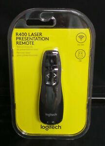 Logitech R400 Laser Presentation Remote 910-001354 Brand New Free Shipping