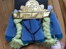 NWT 2 PC PRINCESS Pet Costume Sz L/XL Headpiece with Crown & Skirt