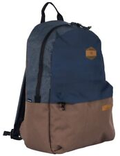 Rip Curl Mood Stacka Backpack Navy Brown Gray Zip Pack New With Tags - BBPUD2