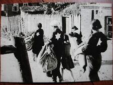 Photo - HOLOCAUSTE - ETOILE JAUNE - JUIF JEW JEWISH - 2.wk ww2 foto