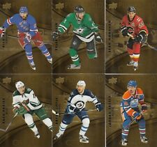 2016-17 UD TIM HORTON  PURE GOLD 6 DIFFERENTS CARDS eberle-seguin
