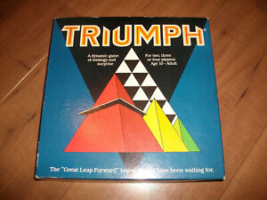 Vintage Triumph Game of Strategy Creative Crusade 1986 Complete Free P+P