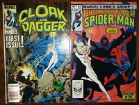 Spectacular Spider-Man 81 Cloak and Dagger 1 Punisher