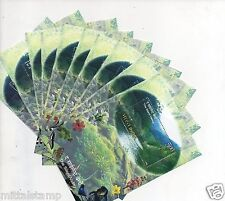 INDIA 2009 50 MINIATURE SHEETS OF SILENT VALLEY MNH WHITE GUM