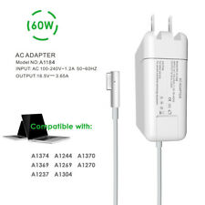 "60W L-Tip AC Adapter A1344 A1330 A1181 Charger for 13"" Macbook Pro 2009-mid 2012"
