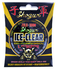 30lb Shogun ICE CLEAR Fluorocarbon Fishing Leader / Line 50mt Spool
