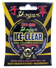 20lb Shogun ICE CLEAR Fluorocarbon Fishing Leader / Line 50mt Spool
