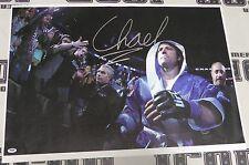 Chael Sonnen Signed UFC 20x30 Canvas Photo PSA/DNA COA Walkout Picture Autograph