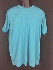 Mens green climacool chill adidas workout tennis running shirt Size S New tags