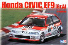 Honda Civic EF9 Gr.A 1991 IDEMITSU 1:24 Model Kit Bausatz Beemax Aoshima 105146