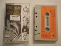 THE JAM DIG THE NEW BREED CASSETTE TAPE 1982 RED PAPER LABEL POLYDOR