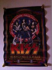 Kiss 1996 Concert Poster New Orleans,LA Reunion Tour Louisiana Superdome