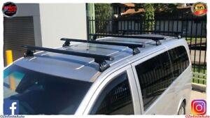 Set of 4 Heavy Duty Roof Racks Suit Mercedes-Benz Vit / Valente  2005-2021