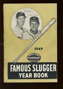 1949 Louisville Slugger Famous Sluggers Yearbook Ted Williams Stan Musial