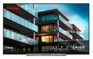 """Toshiba 49TL7A63DB 49"""" Edge-lit LED 4K Smart TV - Black"""