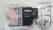 LC1240 GENUINE BROTHER INK CARTRIDGE - YELLOW - LC-1240