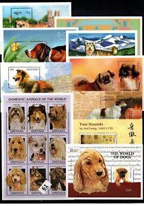 / 10 S/S - MNH - MIX - PETS - ANIMALS - DOGS - WHOLESALE