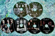 Button & Free The Cult Live Video Archives 1985 to 2006 6 Dvd Set Ian Astbury