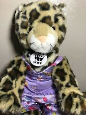 Build A Bear Cheetah Leopard Plush WWF World Wildlife Foundation Song Call Me