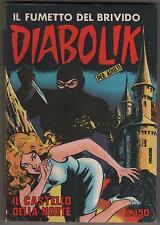 DIABOLIK prima serie N.19  IL CASTELLO DELLA MORTE  originale 1964 1a I