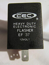 CEC EF37 Wagner FHS 7056 Electronic Auto Turn Signal Flasher, 3 Prong, Square