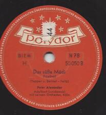 Peter Alexander singt Dean Martin auf Deutsch : The Naughty Lady Of Shady Lane