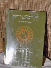 dizionario toponomastico Trentino i nomi locali di Bezzecca Concei toponomastica