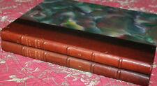 1926 Histoire universelle de L'Art Marty 2 vol architecture sculpture peinture