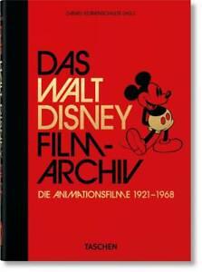 Disney Taschen Buch Das Walt Disney Filmarchiv. Die Animationsfilme 1921–1968.