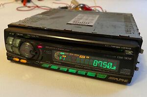ALPINE CDM 7871R Vintage Car Stereo Tape/CD Player