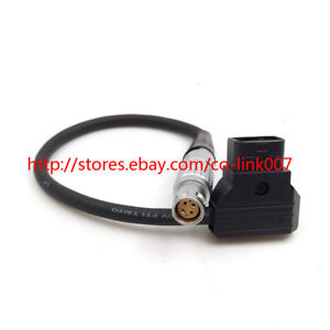 6pin RED Scarlet/ EPIC Power Cable, D-tap to 6pin Female Plug 28CM