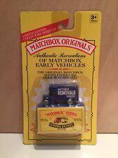 🆕 1993 MATCHBOX ORIGINALS No.17A O'TYPE BEDFORD REMOVALS VAN - LIMITED EDITION