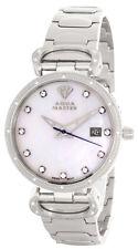 Aqua Master Womens Pearl Dial Stainless Steel Bracelet Watch W#359_3