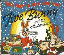 JIVE BUNNY & Mastermixers Let's Party w/ UNRELEASED AULD LANG SYNE CD single