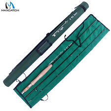 2WT Ultralight Fly Rod 6FT-3Pieces Medium Fast Fly Fishing Rod For Small Stream