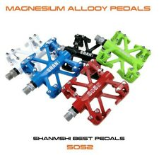 1pair Magnesium alloy Road MTB Mountain  Bike Cycling Pedals flat Bicycle Pedal