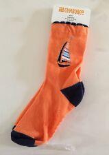 Gymboree Orange Blue Sailboat Socks Size 4/5T 10-11