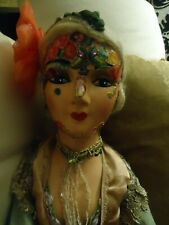 Collectible Boudoir 1920s Doll - 26 Inches