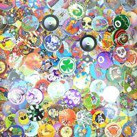 Lot of 200 Pogs / Milk Caps + Slammer Unsorted! Retro Game Nostalgia! Clover