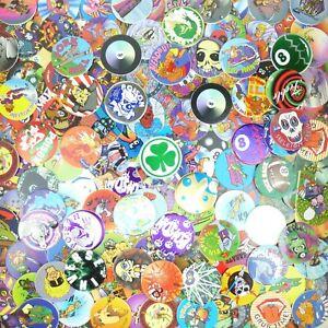 Lot of 200 Pogs / Milk Caps + 1 Slammer Unsorted! Retro Game Nostalgia! Random