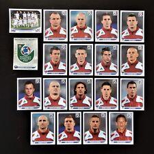 Panini FIFA World Cup South Africa 2010 Complete Team Slovakia + Foil Badge