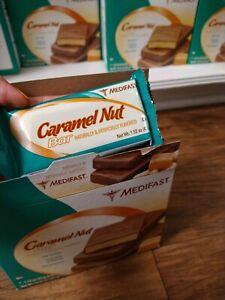 Medifast Caramel Nut Bar Lot 7 Bars NIB Optavia HTF Discontinued Fresh 1/22/2022