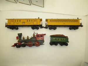 LIONEL  1862 General Locomotive Set, 1862T , 1866 Mail car, 1865 Passenger Car